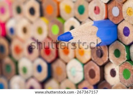 Pencil. Colored Pencils - stock photo