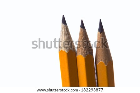 Pencil tip - stock photo
