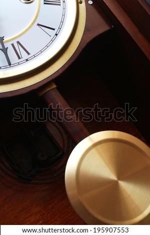 pendulum clocks - stock photo