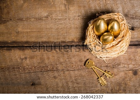 Pension, invest, investment. - stock photo