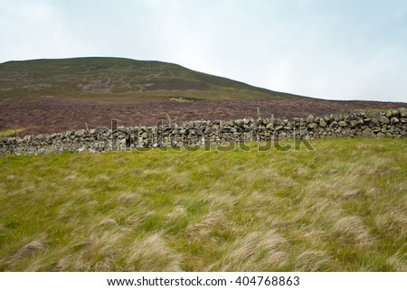 Pentland Hills , Scotland - stock photo
