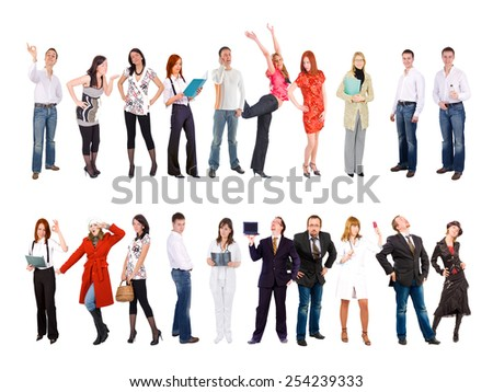 People Diversity Corporate Culture  - stock photo