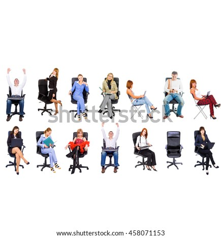 People Diversity Office Culture  - stock photo