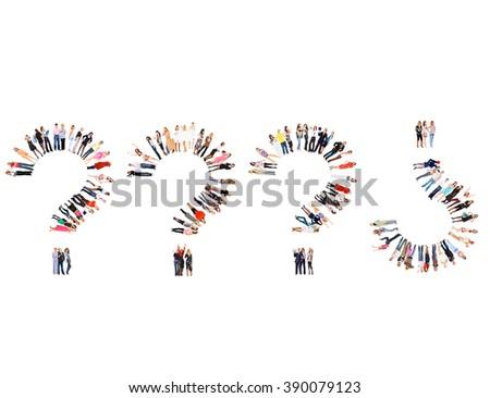 People Diversity Workforce Concept  - stock photo