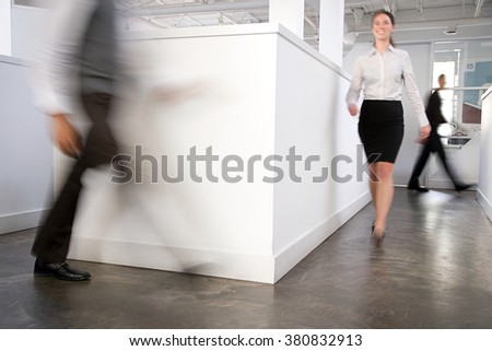 People in an office - stock photo