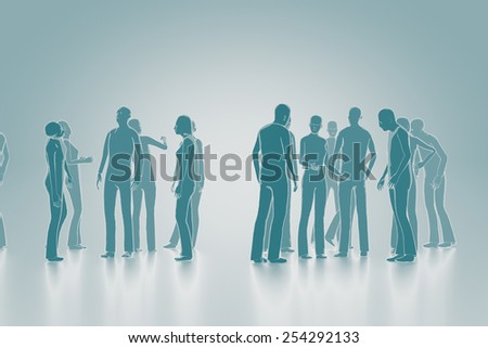People in brainstorming concept - stock photo