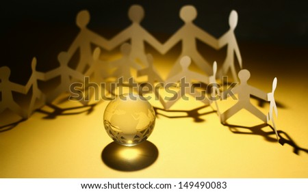 People Team - stock photo