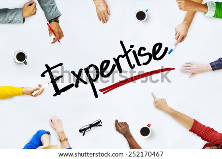 People Working and Expertise Concept - stock photo