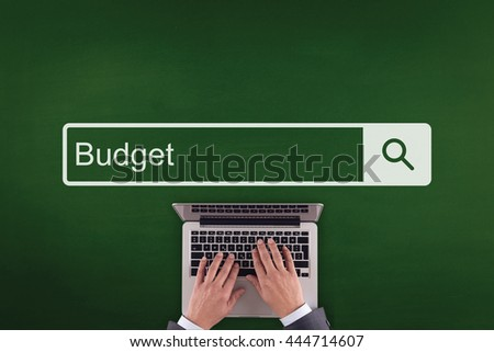 PEOPLE WORKING OFFICE COMMUNICATION  BUDGET TECHNOLOGY SEARCHING CONCEPT - stock photo