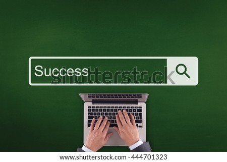 PEOPLE WORKING OFFICE COMMUNICATION  SUCCESS TECHNOLOGY SEARCHING CONCEPT - stock photo
