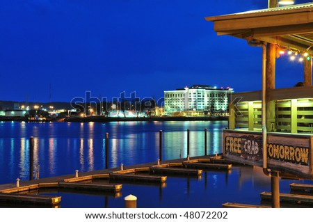 Peoria Riverfront - stock photo