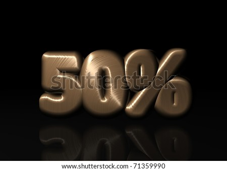 percent for all - stock photo