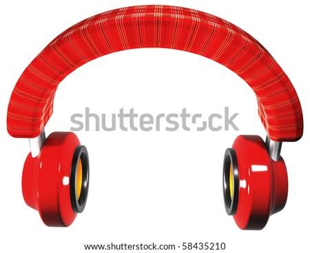 Perfect headphones - stock photo