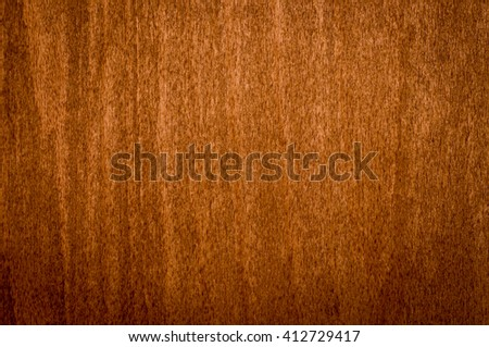 perfectly fine antique style wood surface background frame with vignette of brown dark yellowish color, shot at natural day light, close-up, very homely - stock photo