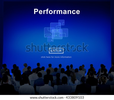 Performance Skill Ability Expertise Professional Experience Concept - stock photo