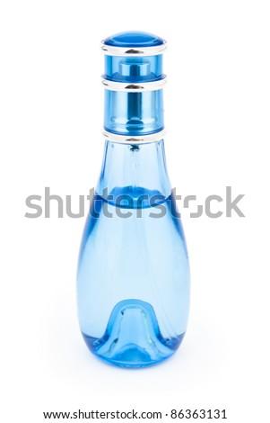 Perfume on white background - stock photo