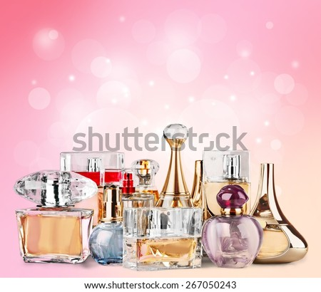 Perfume,  Scented,  Perfume Sprayer. - stock photo
