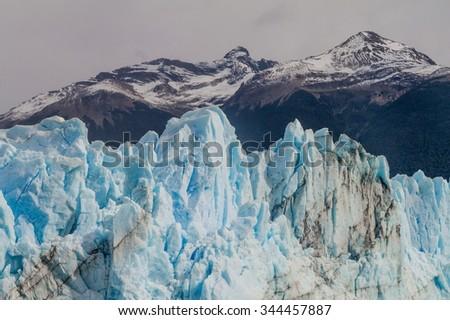 Perito Moreno glacier, Los Glaciares National Park, Patagonia, Argentina - stock photo