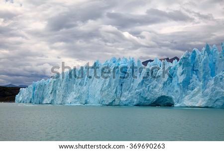 Perito Moreno Glacier. Patagonia, Argentina - stock photo