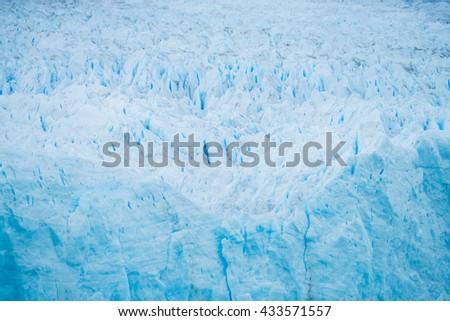 Perito Moreno Glacier, Patagonia, El Chalten - Argentina - stock photo