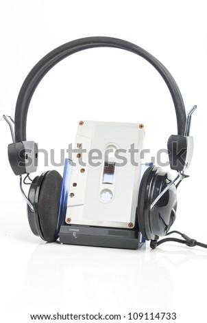 Personal stereo - stock photo