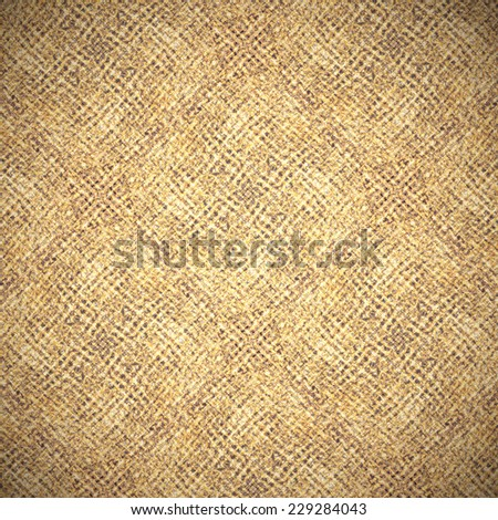 Perspective and closeup view to abstract space of empty light brown, yellow and orange natural clean linen texture for the traditional background in warm rural and grunge colors - stock photo