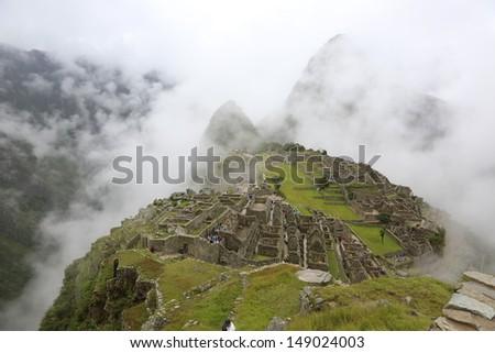 peru/Inca trial/ - stock photo