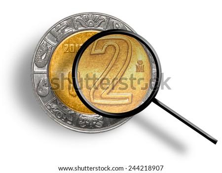 Peso Analysis - stock photo