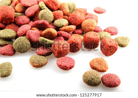 Pet food - stock photo