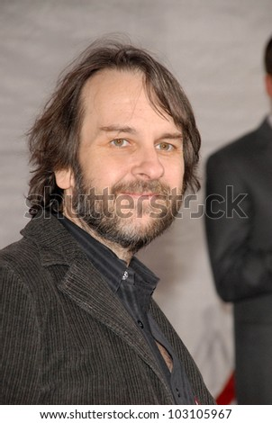 """Peter Jackson  at the Los Angeles Premiere of """"The Lovely Bones,"""" Chinese Theater, Hollywood, CA. 12-07-09 - stock photo"""