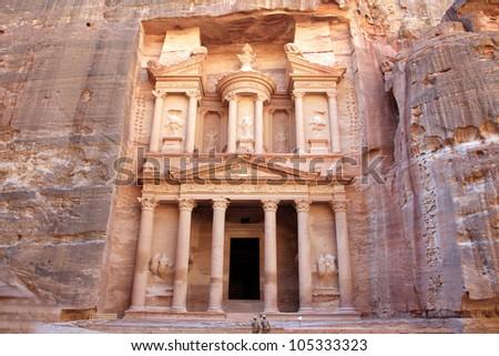 Petra. - stock photo