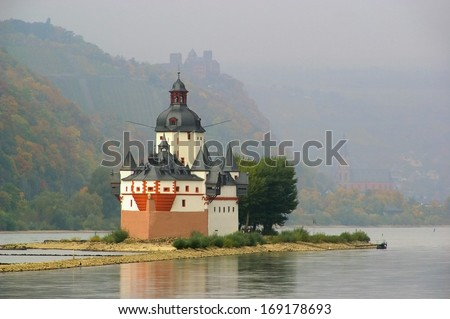 Pfalzgrafenstein  - stock photo