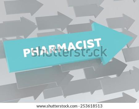 PHARMACIST - stock photo