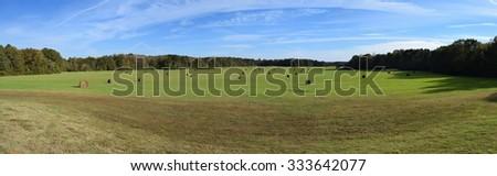 Pharr Mounds in Mississippi - stock photo