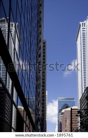 Philadelphia Sky Scrapers - stock photo