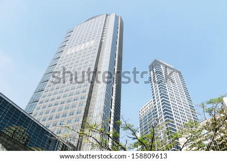 Philippine Stock Exchange located in  Ayala Tower One, one of the tallest building in the Philippines, (160 metres (525 feet),  Manila - Philippines - stock photo