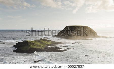 Phillip Island, Australia - stock photo