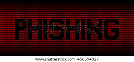 Phishing text on red laptops background illustration - stock photo
