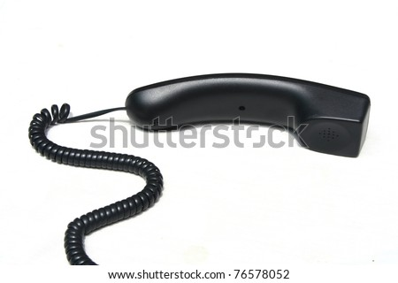 Phone hang - stock photo