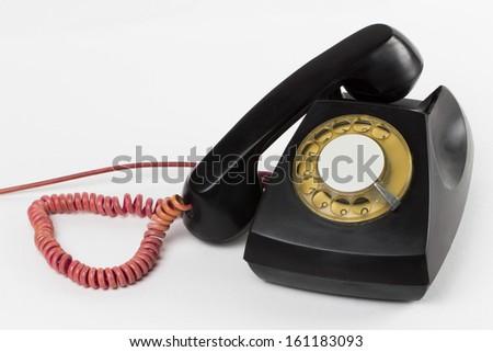 phone on the white background - stock photo