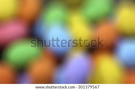 Photo backgroung pattern in blurred defocused multi color lights - stock photo
