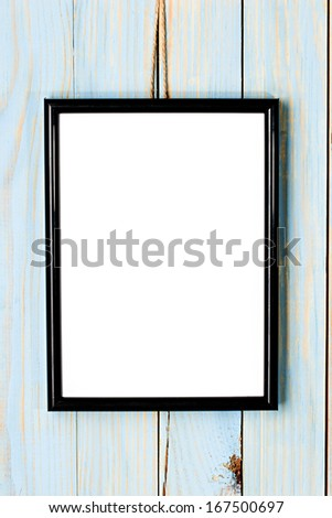 Photo frame - stock photo