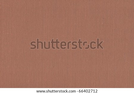 Photo of a natural old brown skin with the relief invoice - stock photo