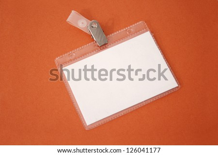 Photo of Badge ID - stock photo