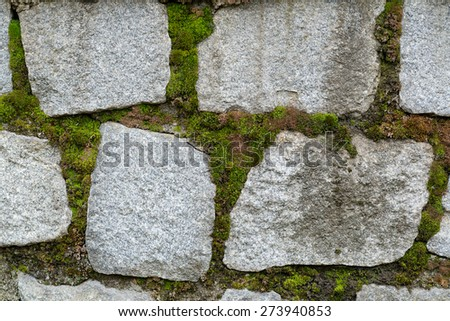 photo of stone wall texture for web background - stock photo