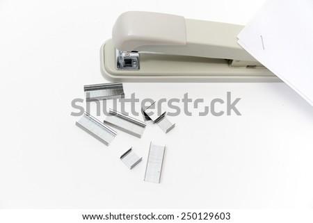 Photo of the Professional stapler - stock photo