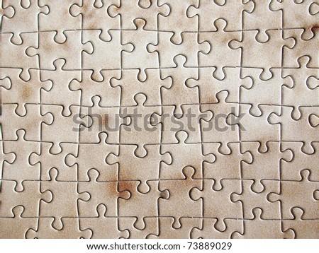 photo puzzle texture - stock photo