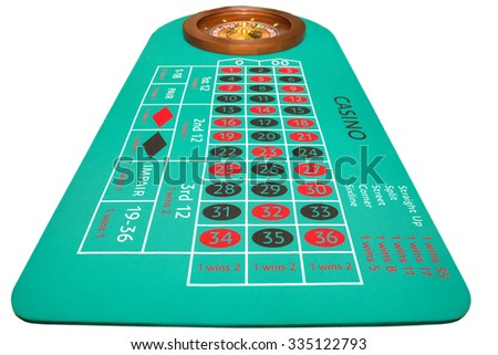 Photo roulette close up. Adult games - stock photo