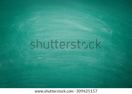 photo shot of dirty green chalkboard - stock photo