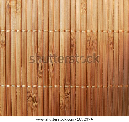 Photo texture - brown bamboo - stock photo